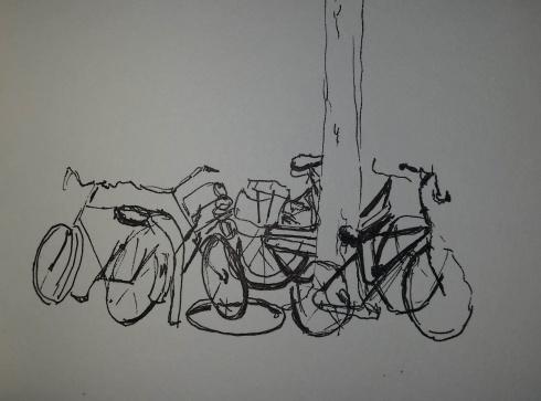 bicycles, Amsterdam